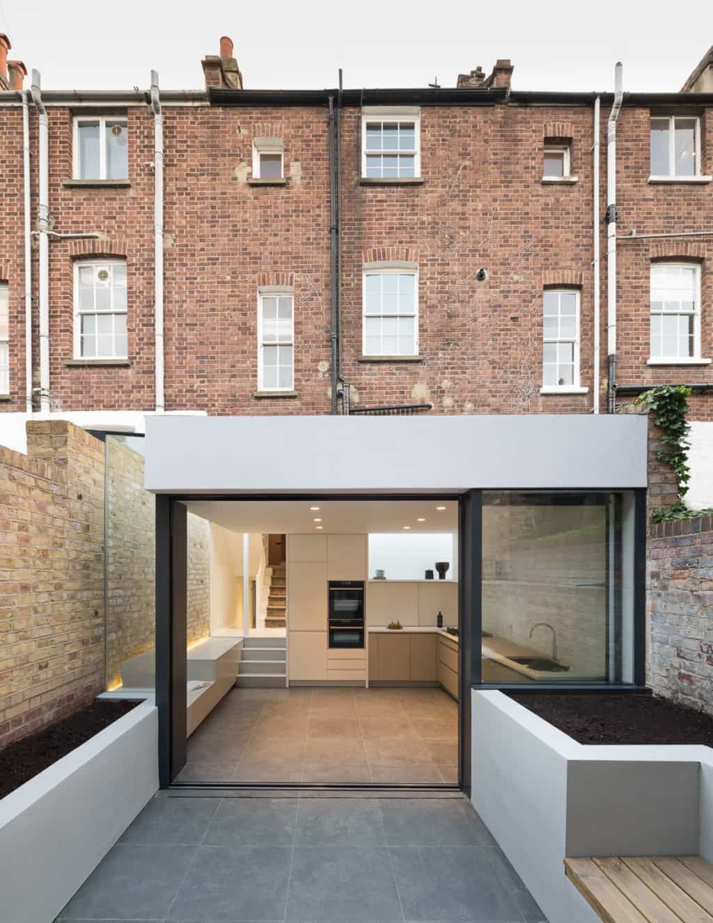 Basement extension architects london #extensionideas