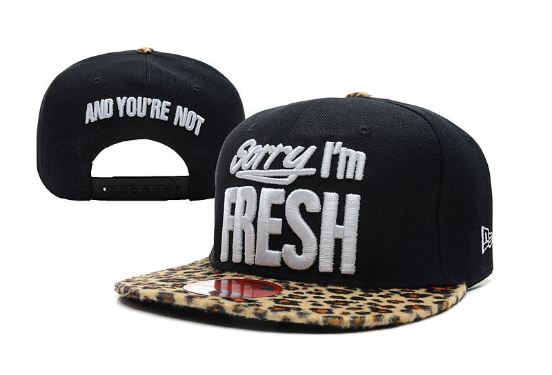 new era hats 2013 cheap,new era caps nz online , Sorry I'm Fresh Snapback Hat (16)  US$6.9 - www.hats-malls.com