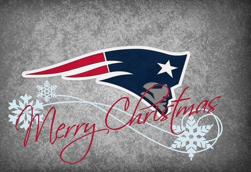 Merry Christmas From The New England Patriots New England Football New England Patriots New England Patriots Football