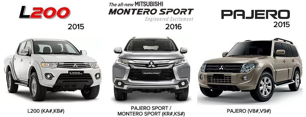 Mitsubishi L200 Pajero 2015 Pajero Sport 2016 Workshop Manuals Mitsubishi Mitsubishi Pajero Sport Mitsubishi Pajero