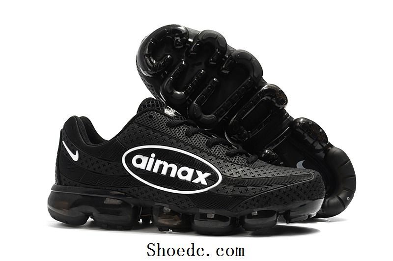 size 40 65d1e 4d3c1 Nike Air VaporMax 2018 95 KPU Black White Women Men