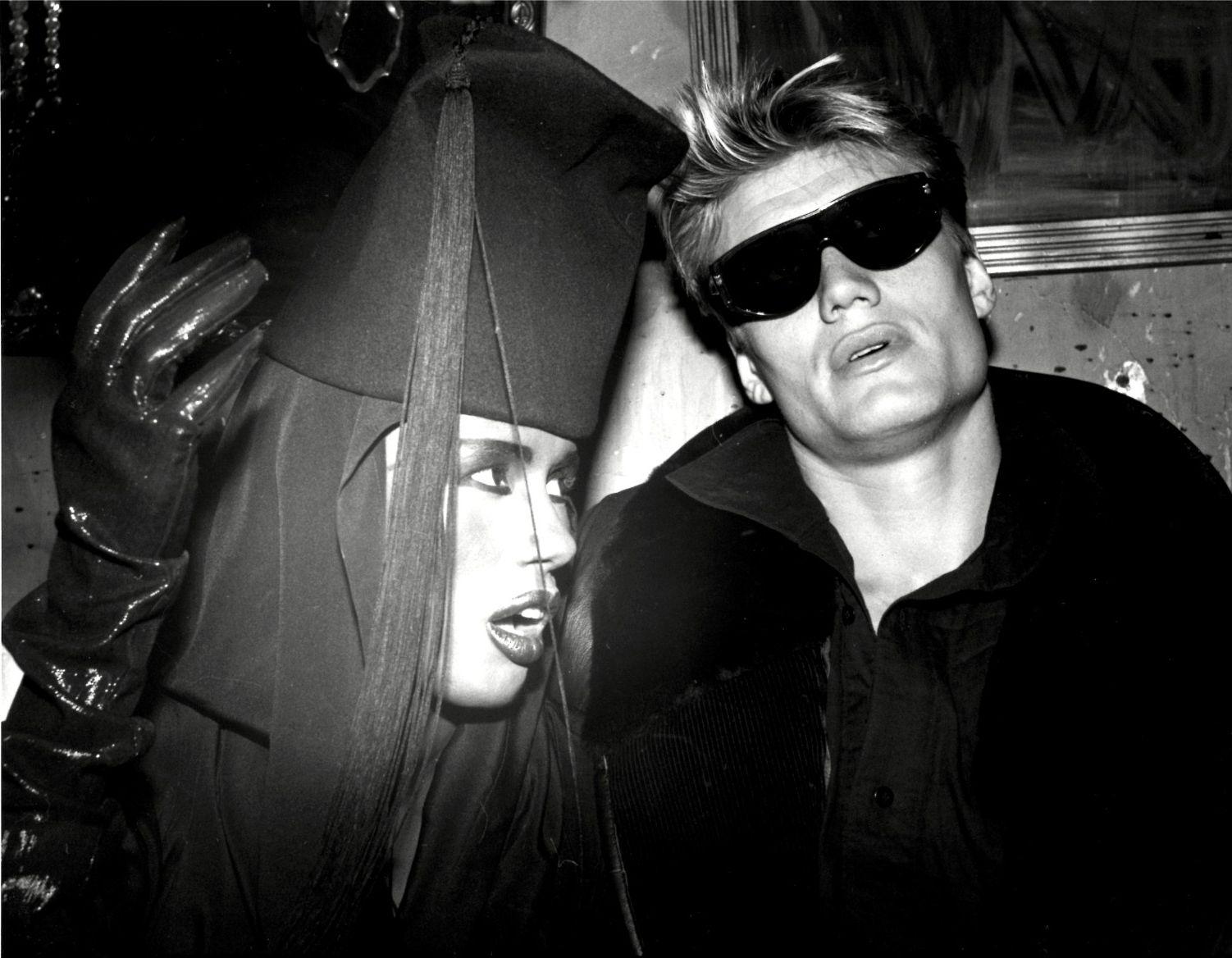 Grace Jones & Dolph Lundgren at The Palladium, NYC