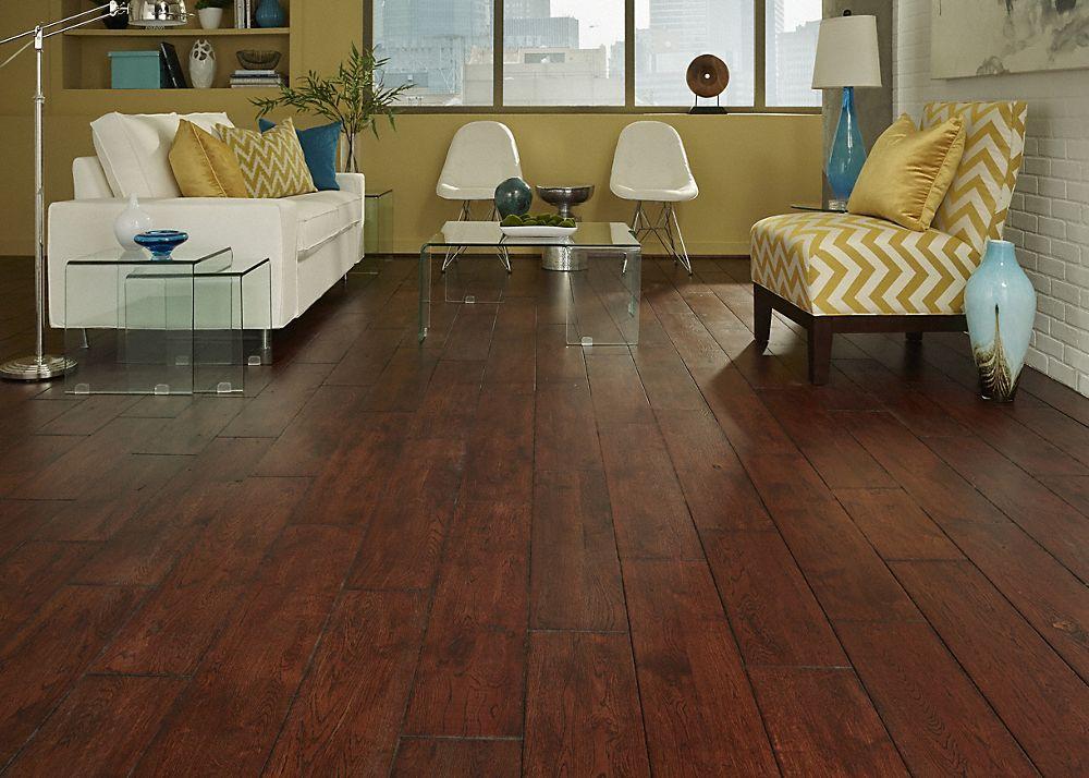 Bolton Oak Handscraped Virginia Mill Works From Lumber Liquidators Distressed Hardwood Floors Home Remodeling Best Flooring