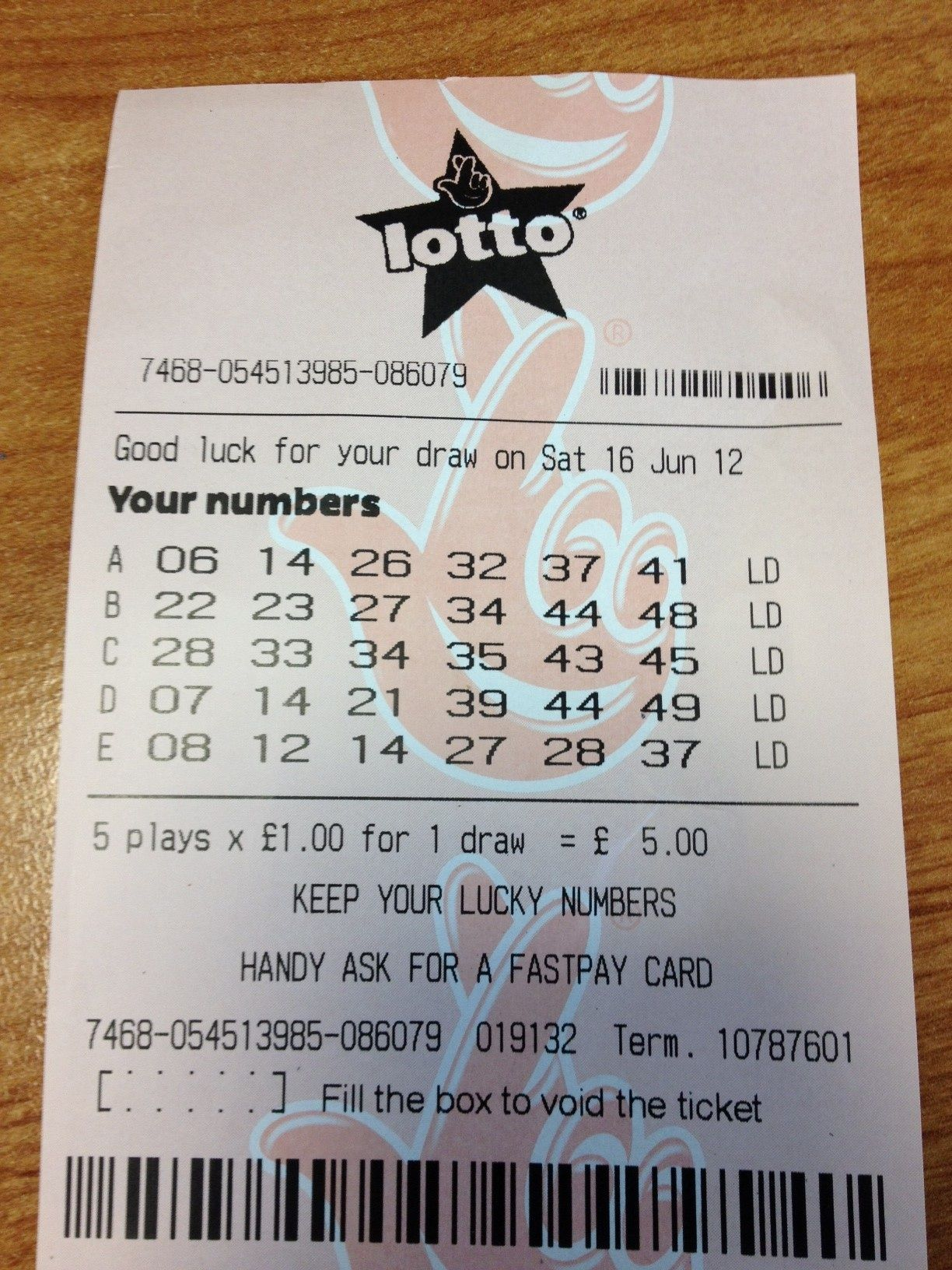 Get Free Lotto #Lottery Ticket For Every 25 Searches at