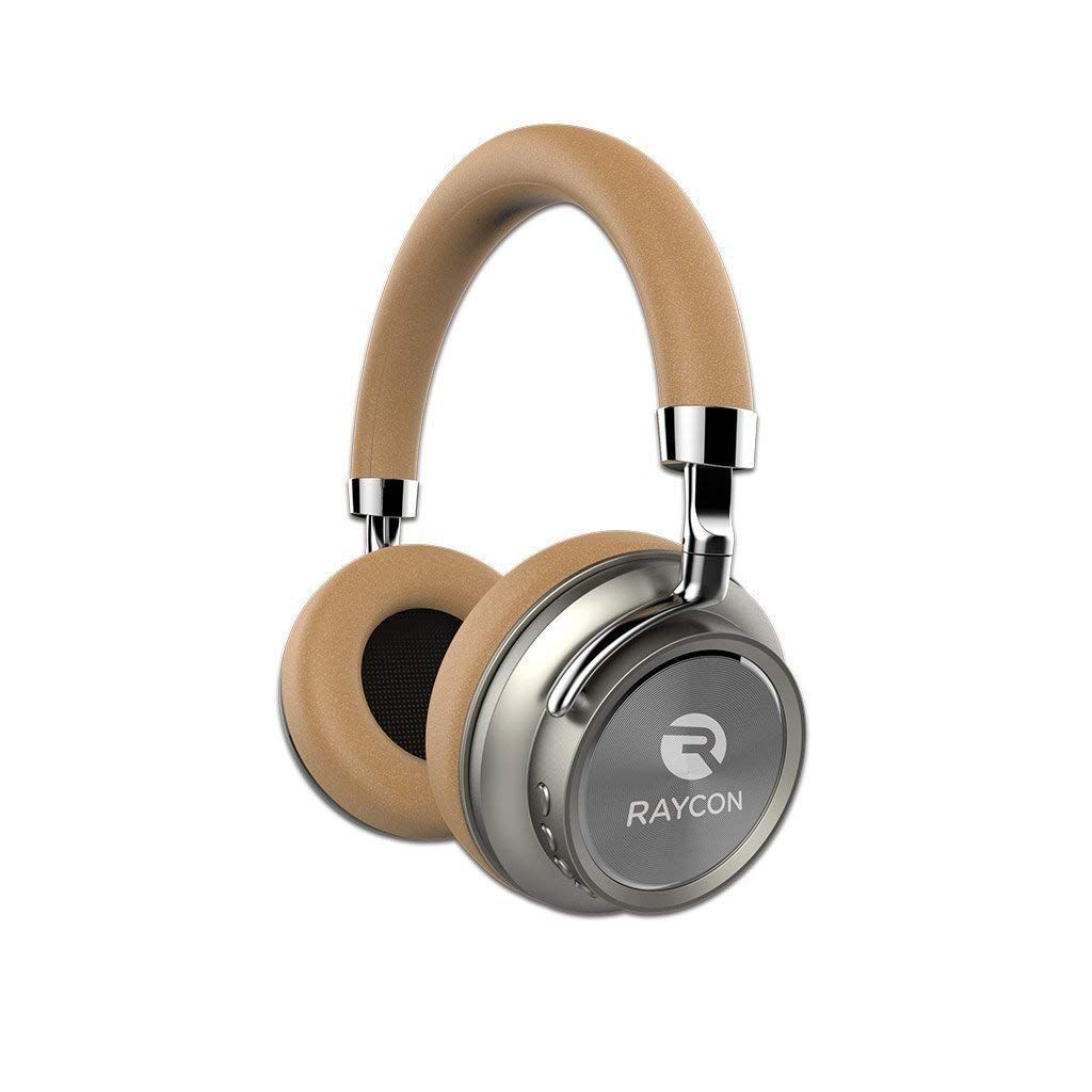 Amazon Com Raycon H50 Wireless Over Ear Headphones Comfortable Bluetooth Headset With Mic And Audio Cable For Headphones Bluetooth Headphones Wireless Headset