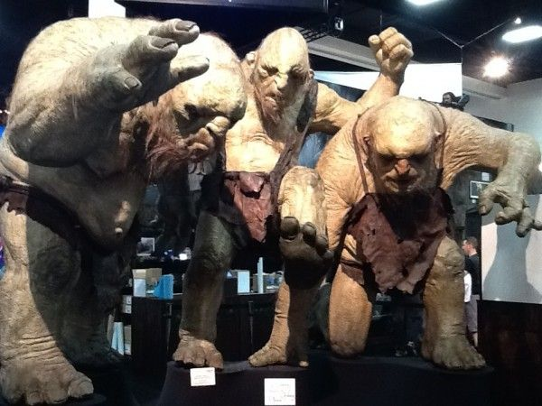 The trolls from The Hobbit!