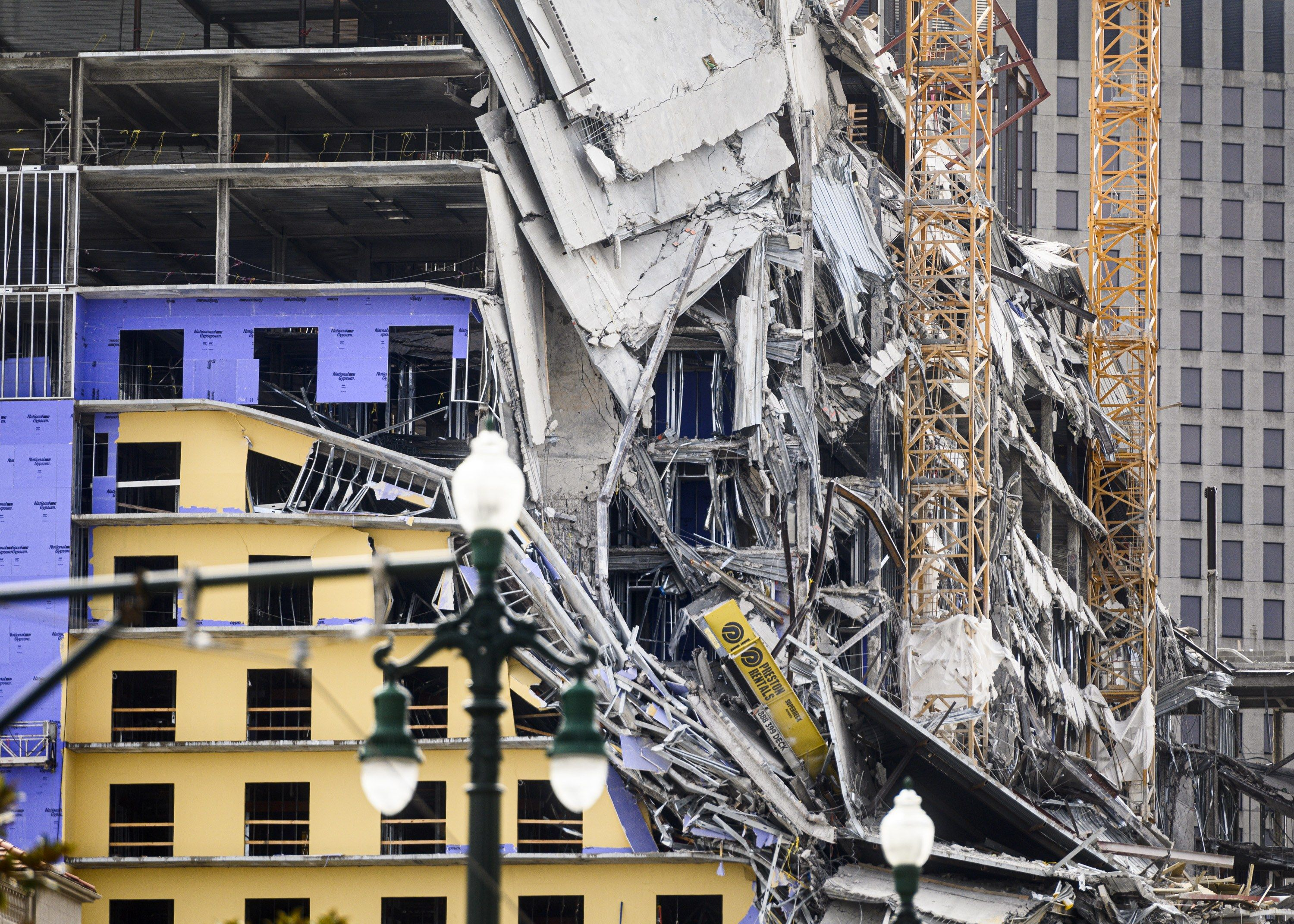 The Hard Rock Hotel Collapse In Downtown New Orleans Has Resulted