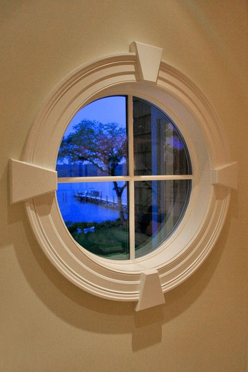 Round Window In The Bedroom Without The Cross Bars I Like