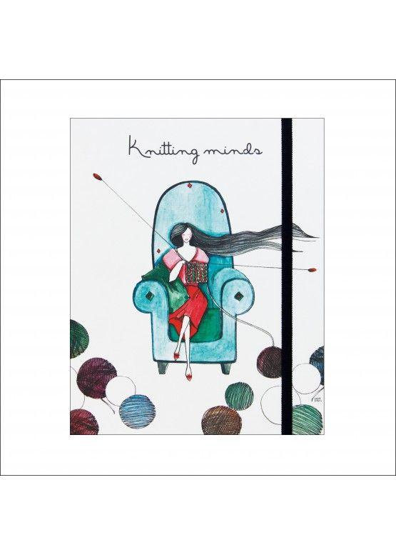 "Проектний блокнот ""Knitting minds"""