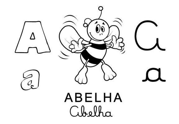 Placas De Alfabeto Ilustrado Alfabeto Ilustrado Alfabeto