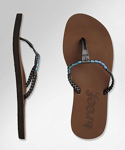 Reef Flip Flops I Have These Love Them Plus The Beads Are