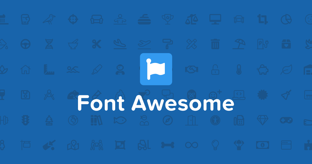 Learn how to use Font Awesome 5 to add vector icons and
