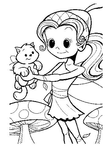Fairy with Cat