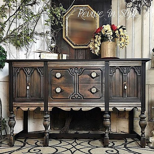 Glaze Furniture Rehab Ideas - Glaze Furniture Rehab Ideas Vintage Buffet, Paint Ideas And Buffet