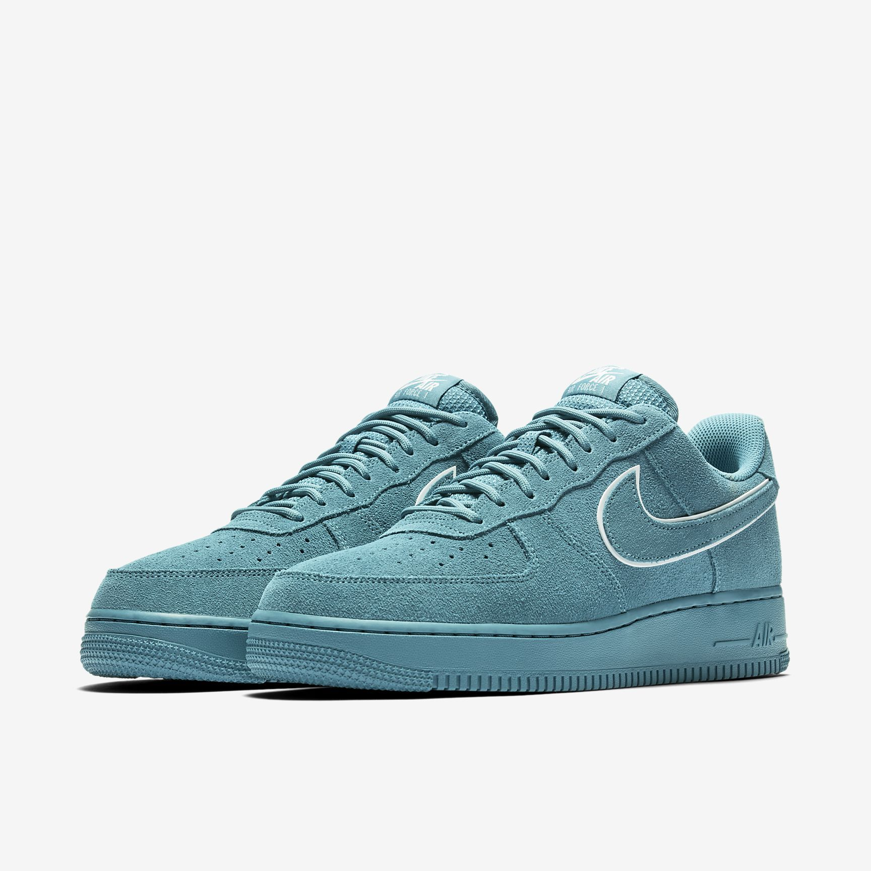 nike air force 1 07 suede homme blue