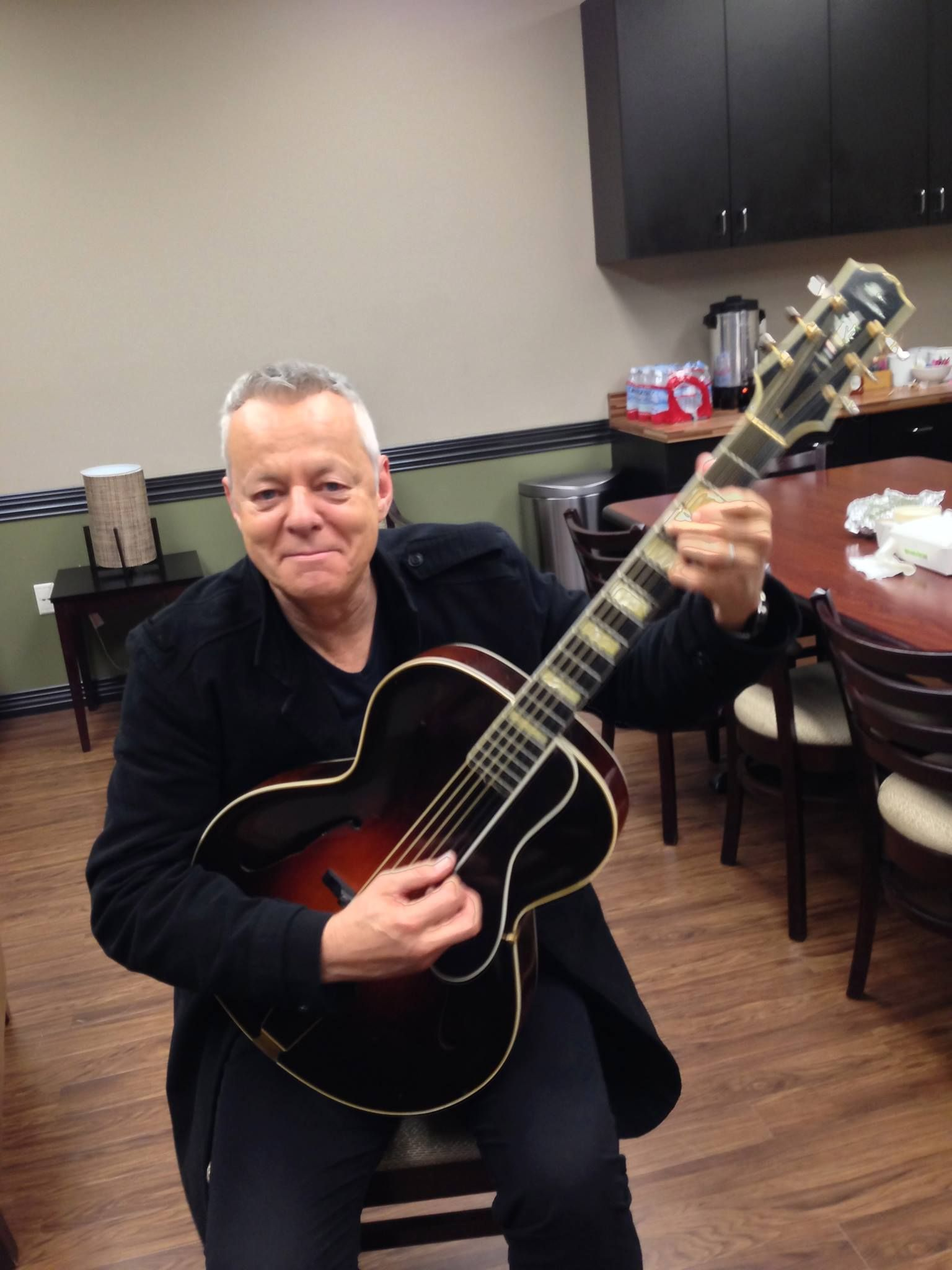 From the Road: This guitar belonged to Eddie Lang, the