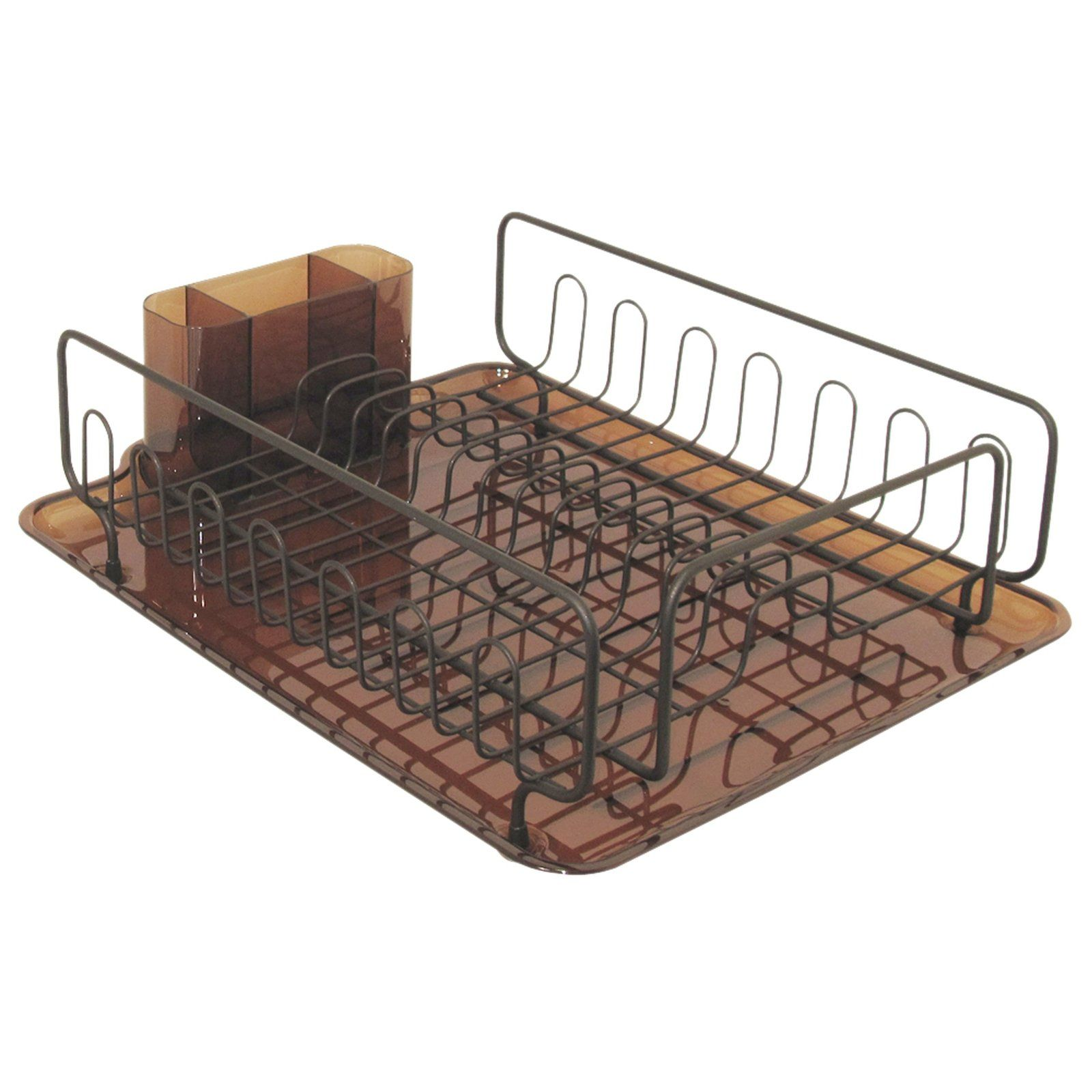 Forma Lupe Dish Drainer, Amber/Bronze   Casa.com