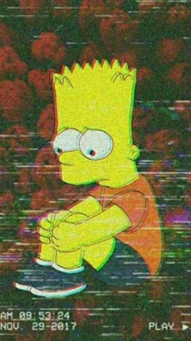 Пин от пользователя numbah 5 на доске Simpson Wave Барт