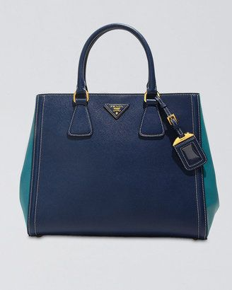 e3833ef45892 Prada Saffiano Bicolor Tote Bag | dream closet | Bags, Prada ...