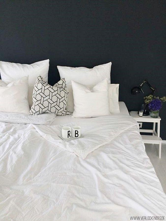 Fruhlingsfrische Tipps Furs Schlafzimmer Schwarze Wande Zimmer Farben Wande