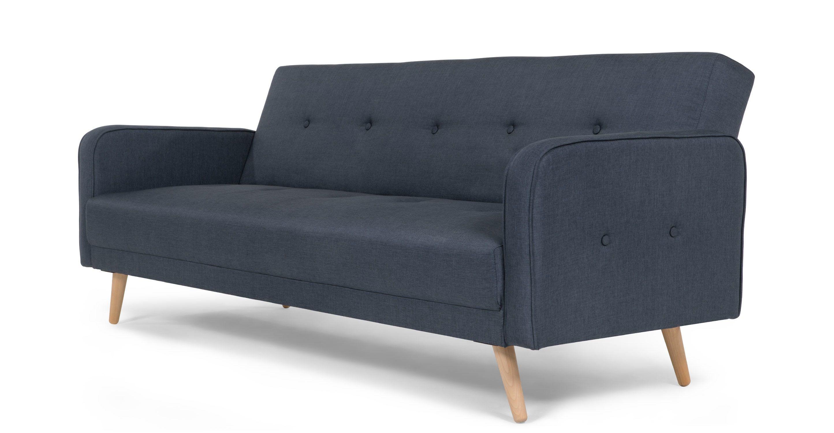o 3 seat sofa in fabric dark grey Habitat