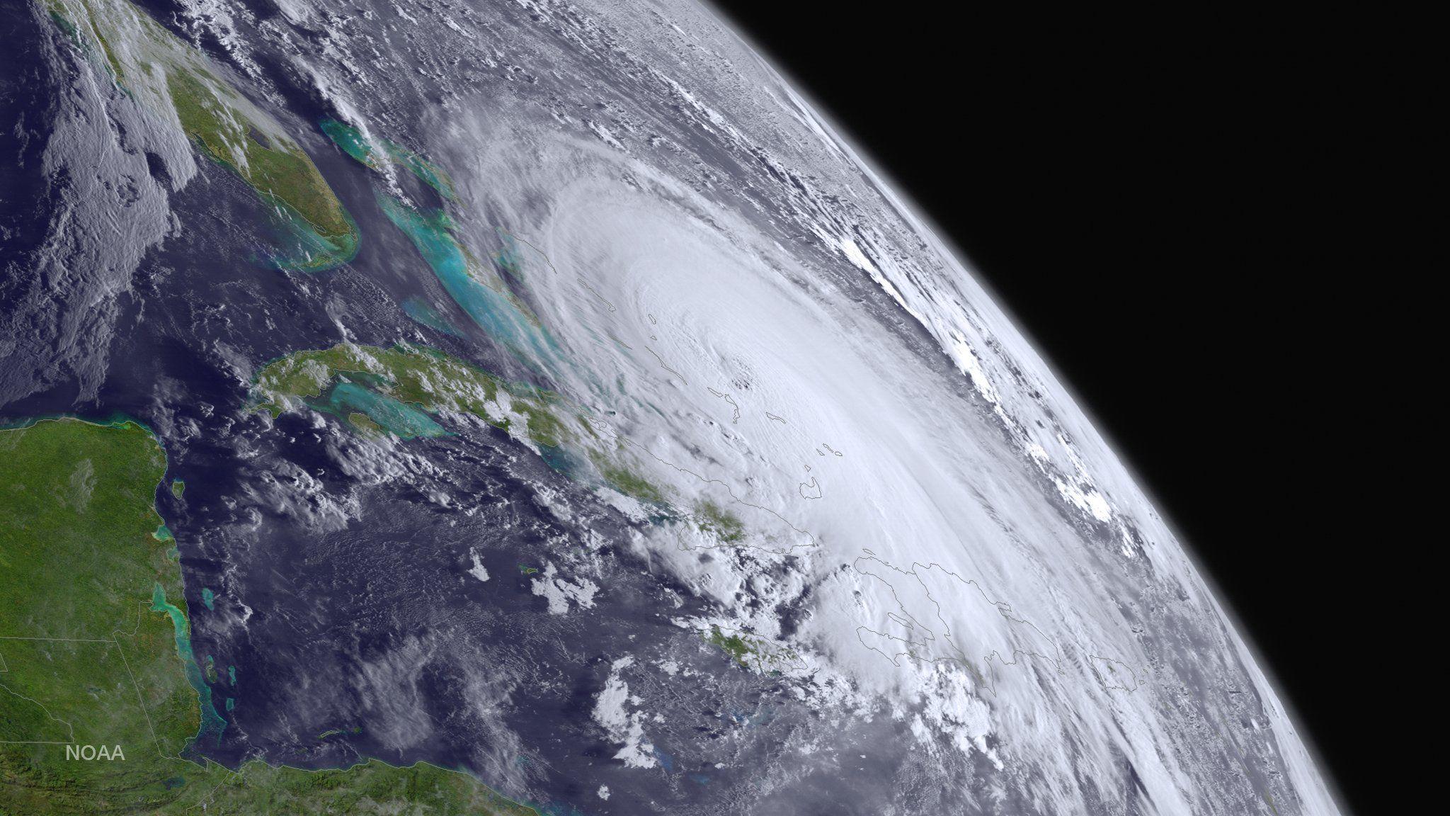 Major Hurricane Joaquin Is Shown At The Far Eastern Periphery Of The Goes West Satellite S Full D Atlantic Hurricane National Hurricane Center Hurricane Season