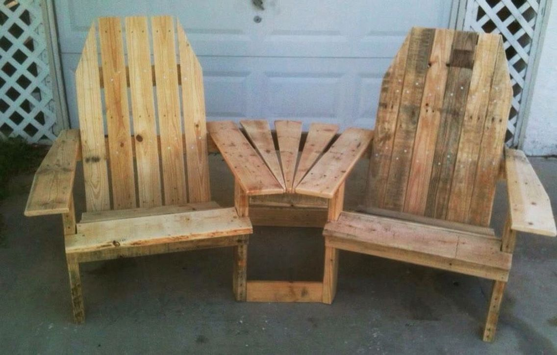 double adirondack chair with cooler