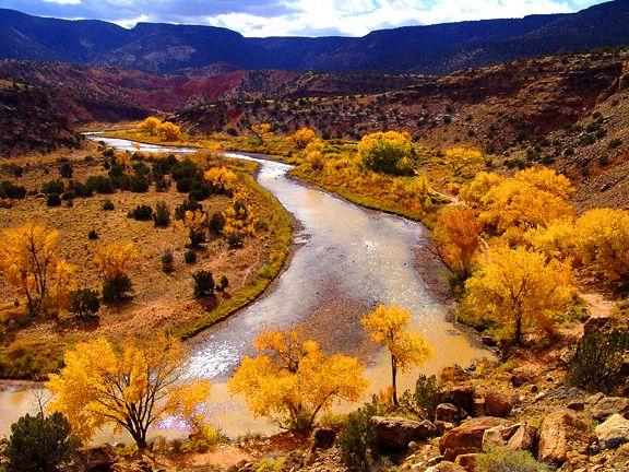 USA, New Mexico, Chama River