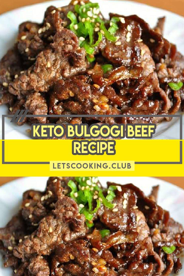 Keto Bulgogi Beef is a perfect keto dish, this classic ...