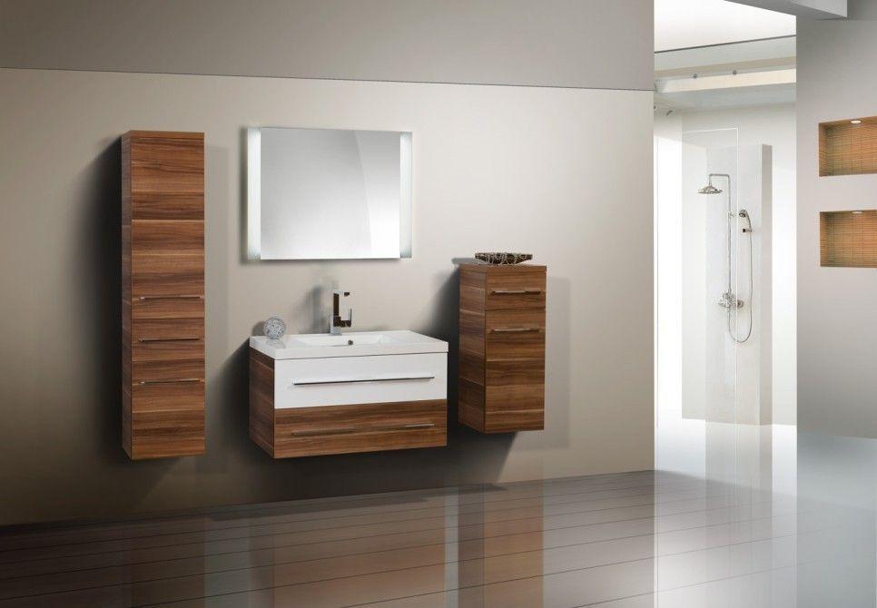 Badezimmermöbel Ebay ~ Design badmöbel set waschtisch 90 lichtspiegel jetzt bestellen