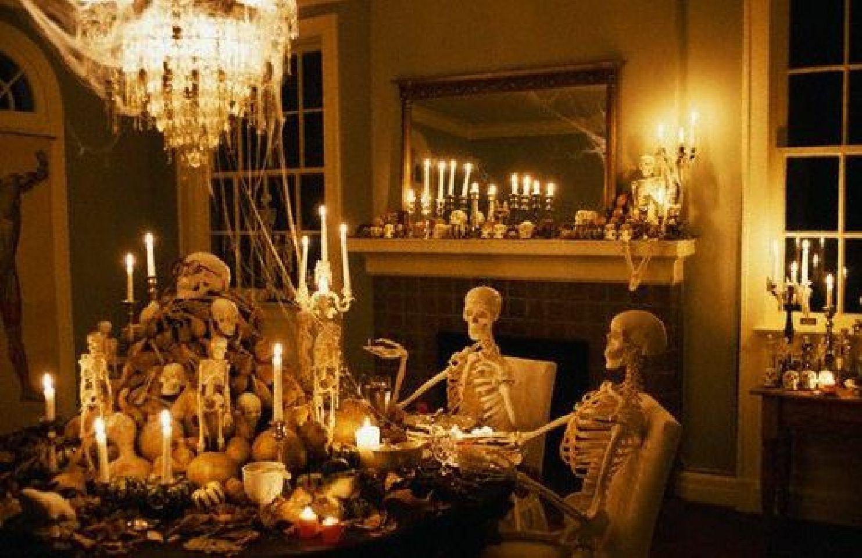 Dining Room   Décoration halloween, Décoration fête halloween ...