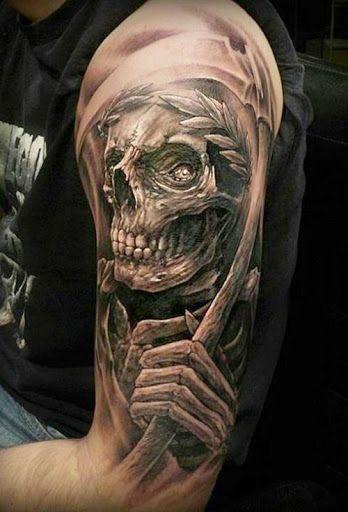 Tatouage Avant Bras Tete De Mort Idees De Tatouages Et Piercings