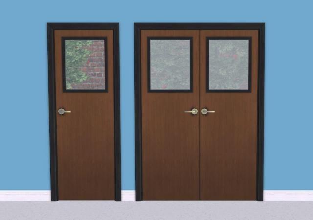 Value Door Addons Part 3 With Window Leefish