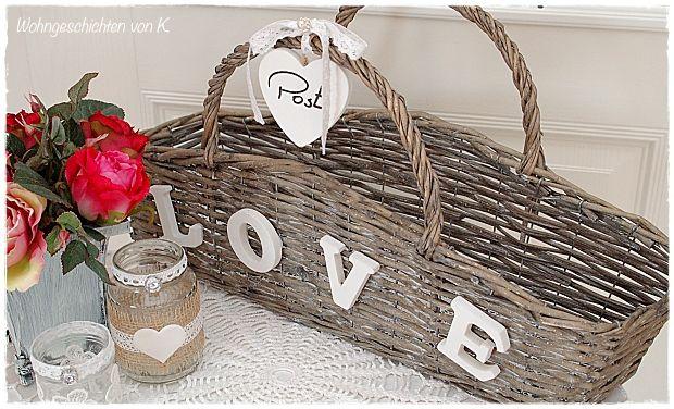 Körbchen für die Hochzeitspost.http://de.dawanda.com/product/94447223-kartenbox-geldgeschenk-hochzeit-love