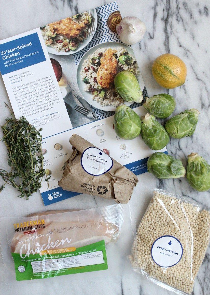 Blue apron za'atar chicken - Blue Apron Za Atar Spiced Chicken Sponsored