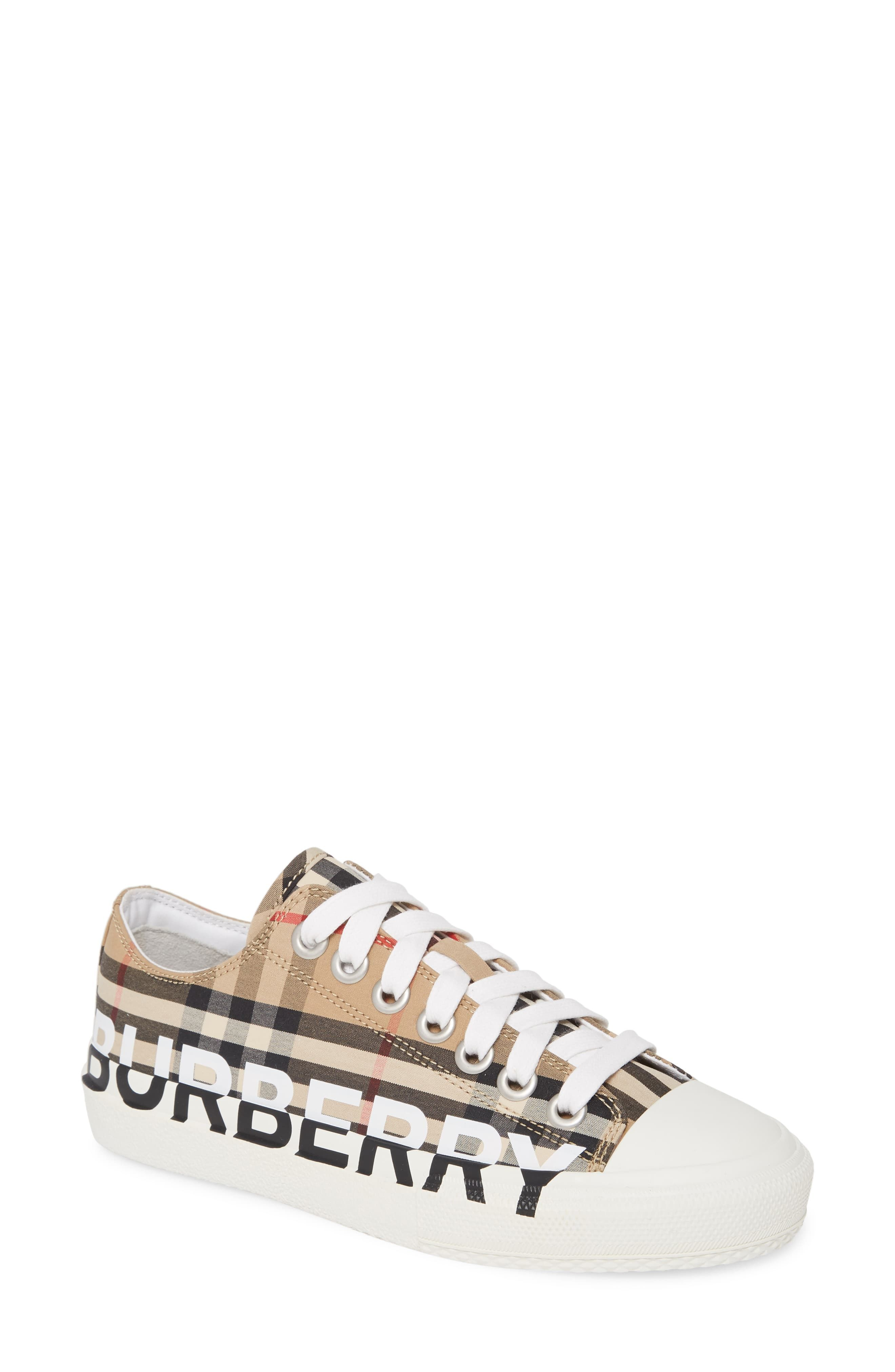 burberry sneakers womens