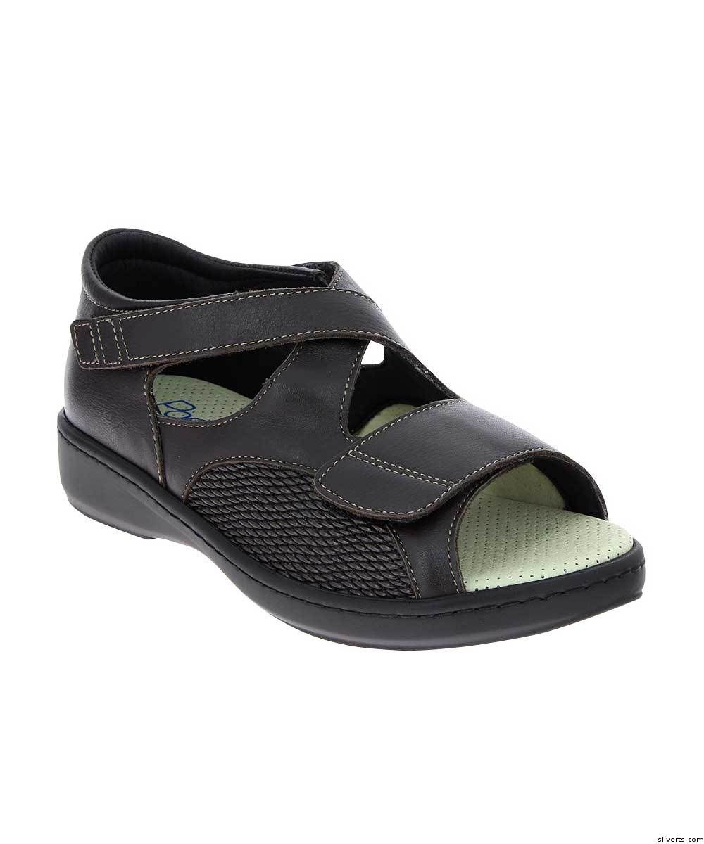 7429558de1b9 Womens Wide VELCRO® Brand Orthopedic Sandals - Adjustable Edema Diabetic  Sandals