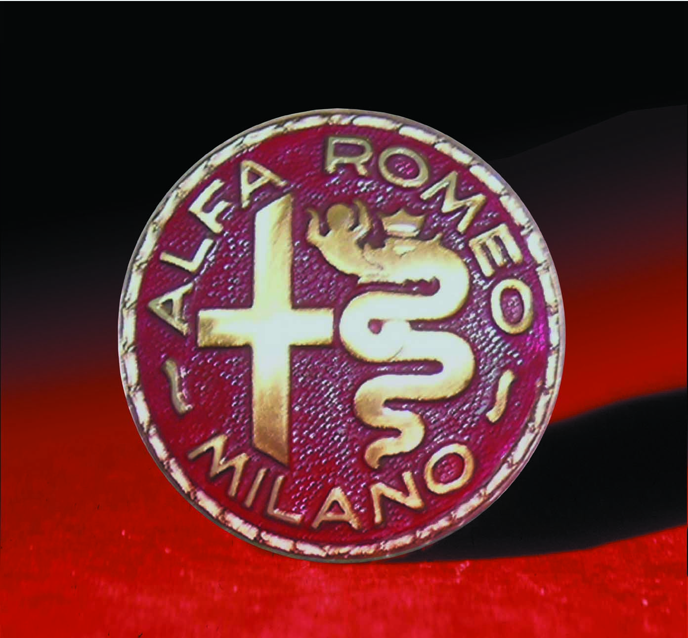 Logo alfa romeo 1945 1950 alfa romeo pinterest for Logos de garajes