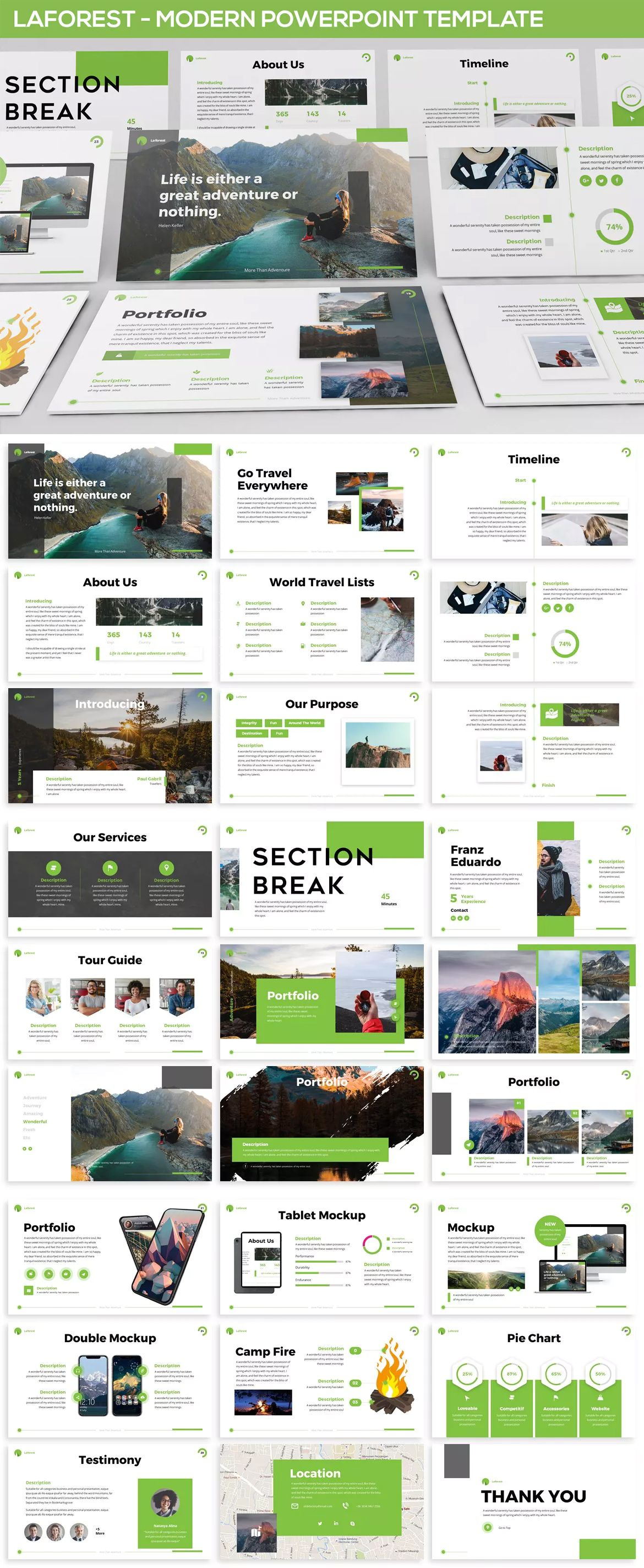 Laforest - Modern Powerpoint Presentation Template - 30