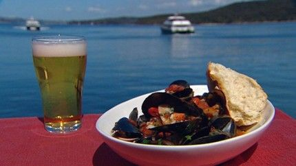 Blokes Mussels - Best Home Chef Recipe #australian #food #mussels #lunch #dinner #seafood