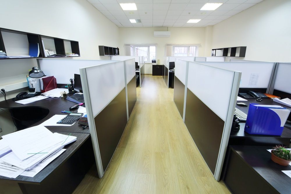 Stylish Office Partitions