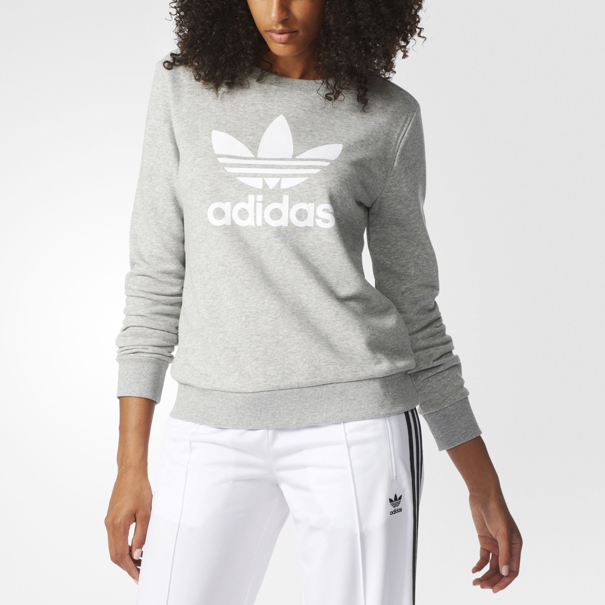 Comfort Combines With Tried And True Sporty Style In This Women S Sweatshirt It Comes In A French T Women Hoodies Sweatshirts Sweatshirts Womens Clothing Tops [ 2000 x 2000 Pixel ]