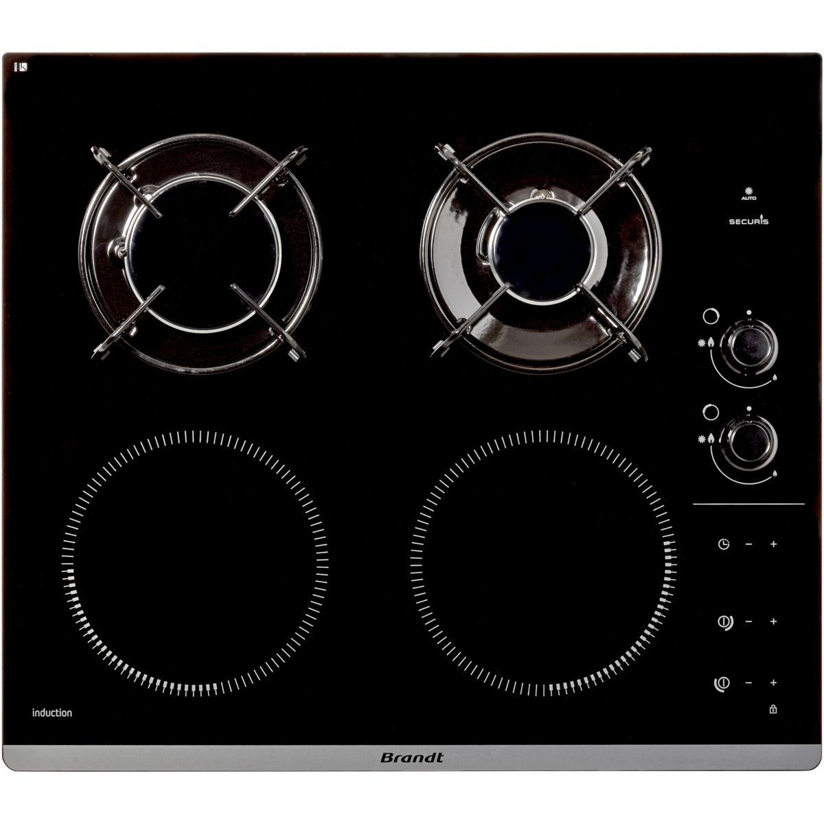 Table Mixte Induction Gaz Bpi6413bm In 2019 Products
