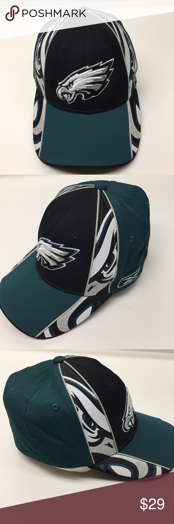 PHILADELPHIA EAGLES Reebok Hat Philadelphia Eagles Reebok NFL hat in  excellent condition. Rare Eagles style 84299f763