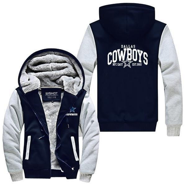 f7c9a7604 NFL DALLAS COWBOYS THICK FLEECE JACKET