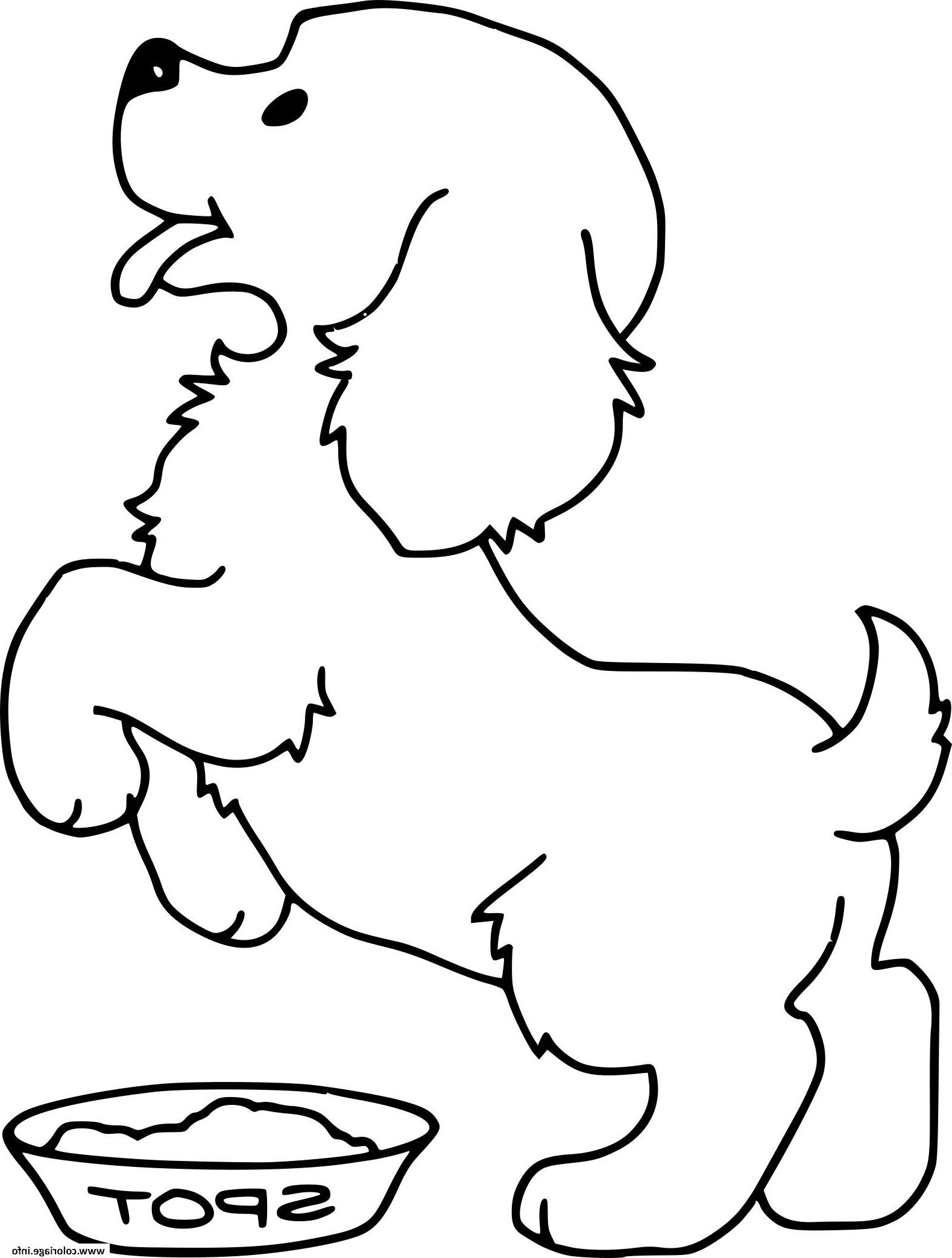 Chien Bebe Adorable Coloriage Dessin Dessina Dog Coloring Page