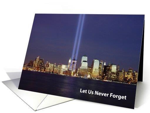 Patriot Day- Sept. 11, 2016