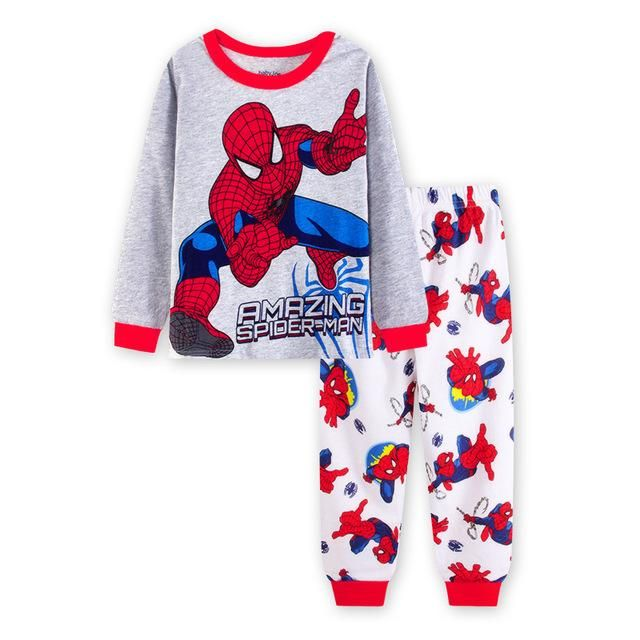 cafe4a8cf Baby Boys Clothes Sets Children 2017 New Long Sleeve Spiderman T ...
