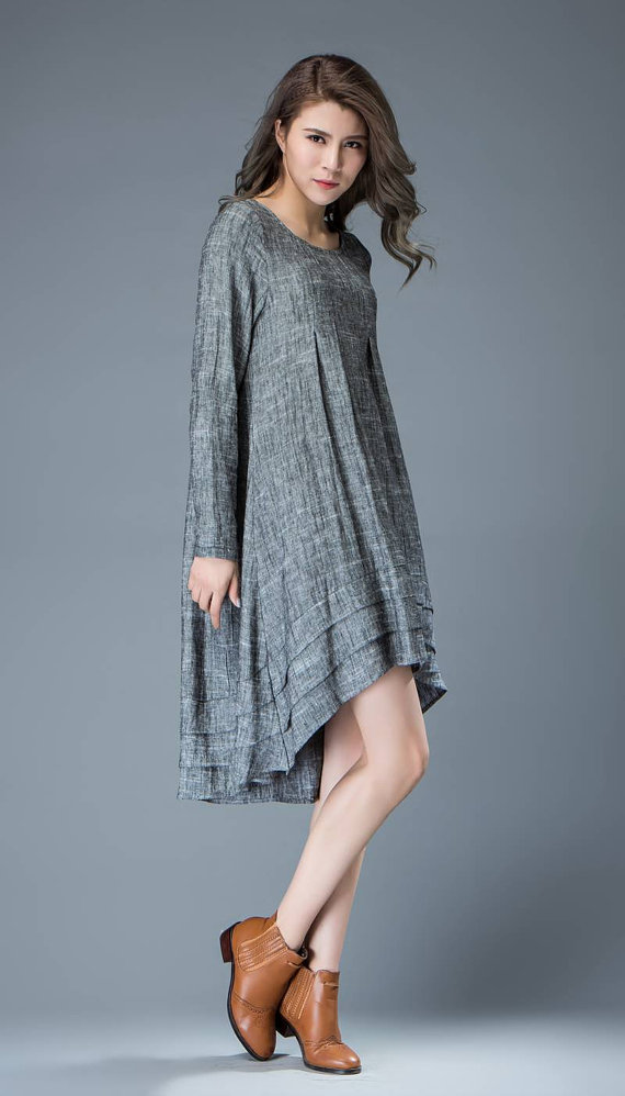54c02730a7 linen dress