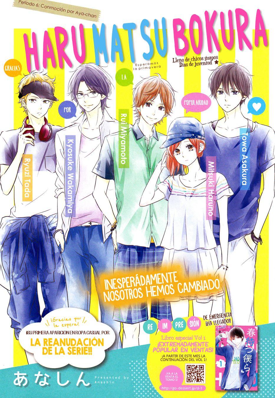 Haru Matsu Bokura - MANGA - Lector - TuMangaOnline | kuk | Pinterest ...